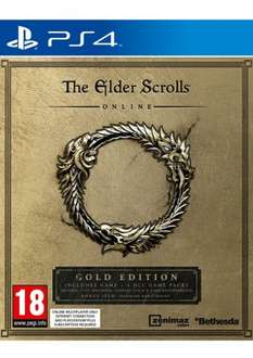 The Elder Scrolls Online Gold Edition on PlayStation 4/ Xbox One £32.85 simplygames