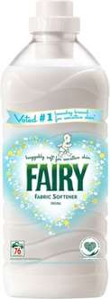 Fairy Fabric Conditioner Sensitive (76 Washes = 1.9L) Half Price was £5.00 now £2.50 @ Tesco