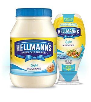 Farmfoods Hellman's light Mayonnaise £1.99 each or 2 for £2.00
