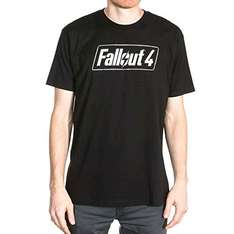 Fallout 4 T-Shirt: Official Licensed Merchandise - Logo (X Large) (Electronic Games/Xbox One/PS4) £3.46 Prime or +£1.99 non-Prime at Amazon (Lightning deal)