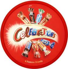 Celebrations Chocolate Tub (750g), Heroes (695g), Roses (729g) & Quality Street Tub (756g) ONLY £4.00 Each (Rollback Deals) @ Asda
