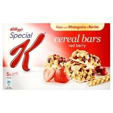 Kellogg's Special K Cereal Bars Half Price In Store & Online @ Tesco (£1)