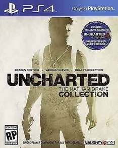 Uncharted: The Nathan Drake Collection (PS4) £17.99 Delivered @ Boomerang via eBay (As New)