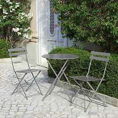 Half Price Clearance !!!  - Rimini Steel Bistro Set  was £49.99 Now £24.99 -   (Reserve & Collect) @ Dunelm