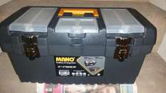 Mano Toolbox (19 inch with smaller 13 inch included) for £3.00 at Morrisons ENFIELD