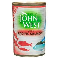 John West Wild Pacific Salmon (Large Tin = 418g) now £1 @ B&M