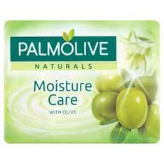Palmolive Naturals Moisture Care with Olive Soap Bars (Pack of 4 x 90g) was £1.33 now £1.00 (Rollback Deal) @ Asda
