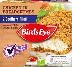 Birds Eye Southern Fried Chicken covered in Breadcrumbs / Hot & Spicy Chicken covered in Breadcrumbs (Packs of 2 = 200g) was £1.69 now 84p @ Iceland