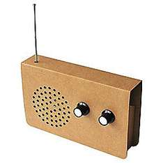 SUCK UK CARDBOARD RADIO AND IPOD PLAYER - £5.96 delivered @ Tesco direct sold by Maplin