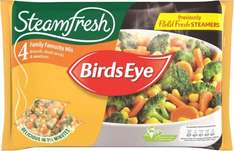 Birds Eye Steamfresh Family Favourite Mix (4 per pack - 540g) was £2.00 now £1.00 @ Iceland