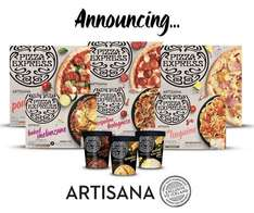 Pizza Express comes to Iceland! 2 Pizzas / Mains for £5 intro offer