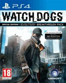 Watch Dogs Special Edition (pre-owned) PS4 £4.99 @ GAME