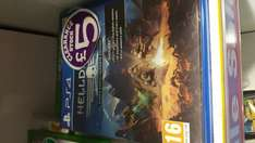 Helldivers Super Earth Ultimate Edition ps4 only £5 instore at Smyths Toys