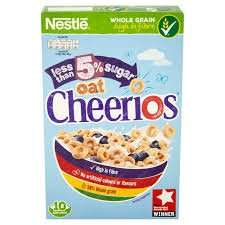 Nestle Oat Cheerios 325g Priced at 46p, scanning at 12p Morrisons Instore