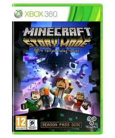 Minecraft Story Mode Xbox 360 less than half price (Argos)