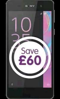 TALKMOBILE OFFER SONY E5 250 MINUTES 5000 TEXTS 500MB DATA FOR £10 24 MONTHS
