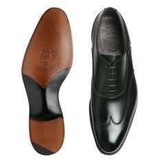 Cheaney Balmoral Oxford Shoes in Black Calf Leather £66 instore @ TK Maxx