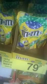 M&M's Peanut 165g for 79p at FarmFoods