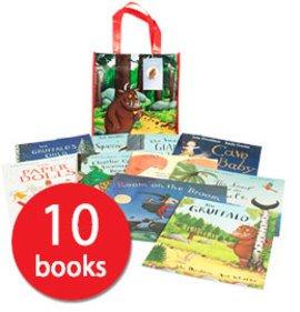 Julia Donaldson Picture Book Collection - 10 Books, The Book People -£9.00 +£2.95 del, free del over £25