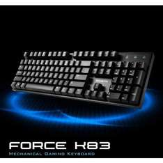 Gigabyte Force K83 Mechanical Cherry MX Red Keyboard £44.92 morecomputers