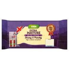 ASDA mild, mature, extra mature Cheddar Cheese, 800g for £3, £3.75 per kg!!!