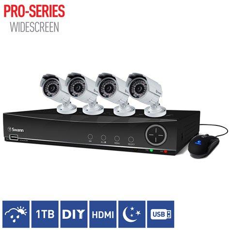 Swann DVR8-4100 8 Channel 960H Digital Video Recorder & 4 x PRO-842 Cameras £199.99 @ Costco (free delivery)