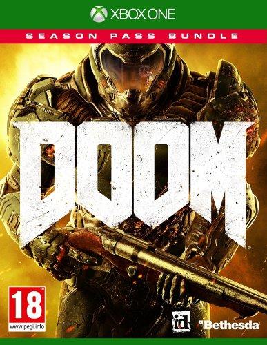 Doom Game + Season Pass Bundle (Exclusive to Amazon.co.uk) (Xbox One) - Amazon Lightning Deal - £26.18