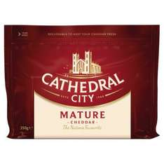 Cathedral City Mature Cheddar / Cathedral City Extra Mature Cheddar (350g) was £2.00 now £1.50 @ Iceland