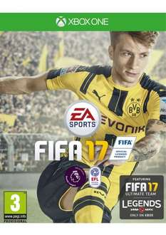 FIFA 17 - Incl 5 Free FUT Tokens! XB1 & PS4 @ SimplyGames - £39.85