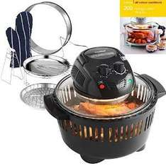 VonShef Premium Halogen Oven Cooker with Heat Resistant Basket 12 litre Capacity in Black Free 2 Year Warranty - £30.98 Delivered @ Amazon (Sold by Domu UK)
