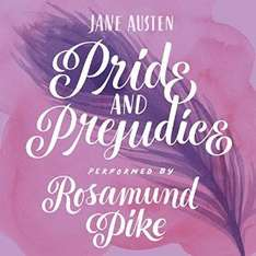 Pride and Prejudice (Audiobook) by Jane Austen £1.99 @ Audible (Daily Deal)