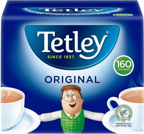 Tetley Teabags (160 = 500g) Half Price was £3.95 now £1.97 @ Tesco