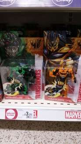 Wilko: Transformers Figures ONLY £3.25 (instore)