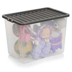 Wilko Storage Box with Lid 80ltr @ £5 each - free store delivery or £4 home delivery