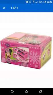 Minnie Mouse Jewellery Box @ Home Bargains for £3.99 (instore)