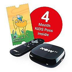Now TV  Box 4 months kids pass £15 Tesco.
