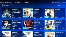 Playstation Games Under £16 sale