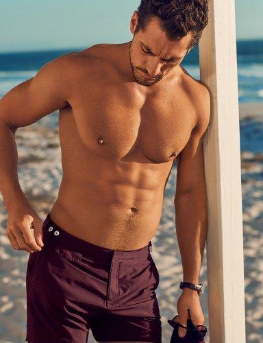 David Gandy Tailored Fit Short Length Quick Dry Swim Shorts £5.99 - free c&c at M&S