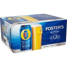 Fosters 20 x 440ml £11.00 at Morrisons