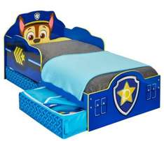 Paw Patrol Chase Toddler Bed With Storage £119 @ Very