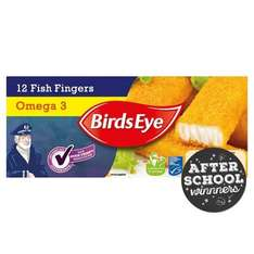 Birds Eye Omega 3 Fish Fingers (12 per pack = 336g) was £1.67 now £1.00 @ Morrisons