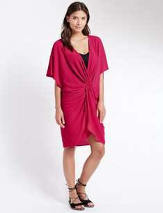 Knot Front Kaftan with Cool Comfort™ Technology All sizes Was 19.50 £2.39 @ M&S Free C&C