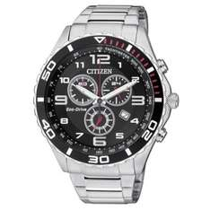 Citizen Eco Drive Men's Stainless Steel Chronograph Watch @ H Samuel £99.99 delivered9