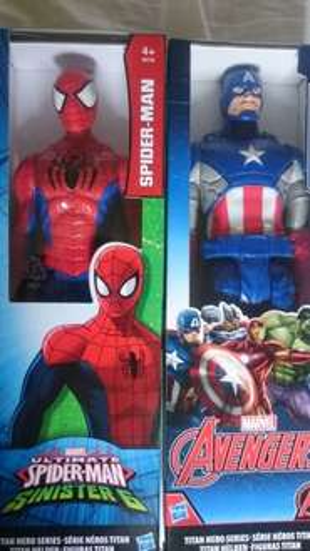 super hero figures Buy one get one free £13 at Tesco st Helens