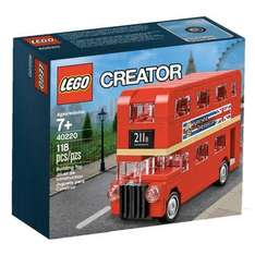 Free Creator London bus 40220 with £50 spend from 3rd to 22nd Oct 2016 @ Lego