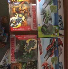 Toy sale at wilko Ashford Kent - included Marvel spider wars vehicles reduced to £2.50