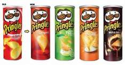 Pringles 95p @ wilkos