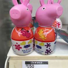 Peppa pig body paint £1.50 instore only Boots St Andrew