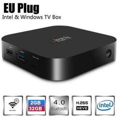 EU Warehouse Wintel Pro CX-W8 TV Box  -  EU PLUG  BLACK £56.56 @ Gearbest