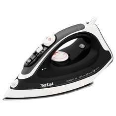 Tefal FV3763 variable Steam Iron with Stainless Steel Plate - Black £9.50 (+£2 C&C) @ Tesco Direct